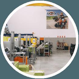 usine de fabrication Falk Toys