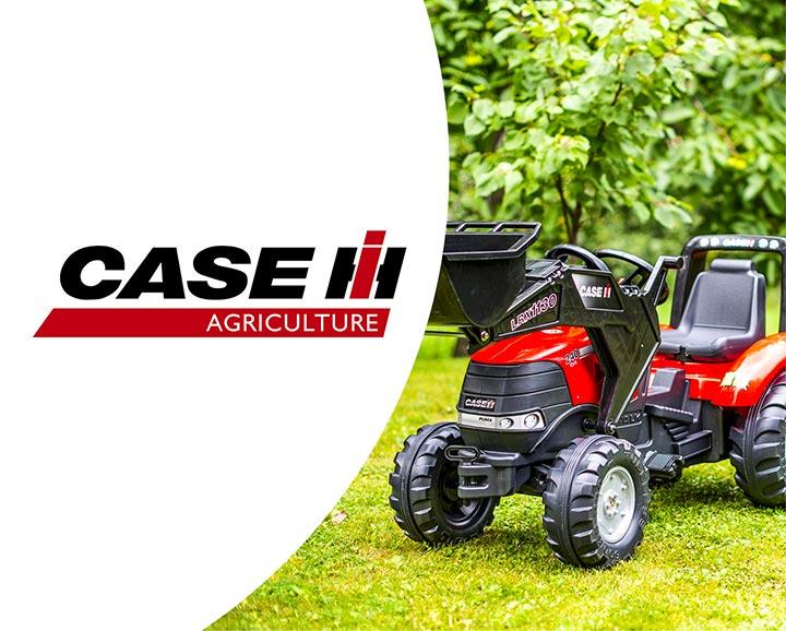 jouet roulant pour enfant de la licence Case IH Agriculture