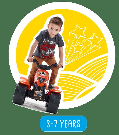 jouets roulants pour enfants de 3 à 7 ans