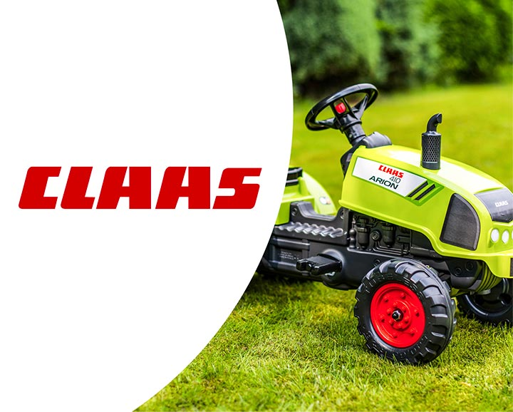 rolling toy for children from Claas license