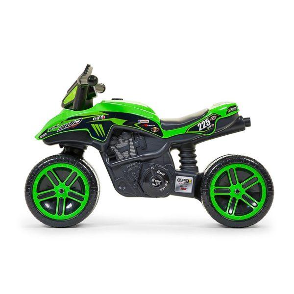 Moto Correpasillos Kawasaki Bud Racing 502KX visto de perfil
