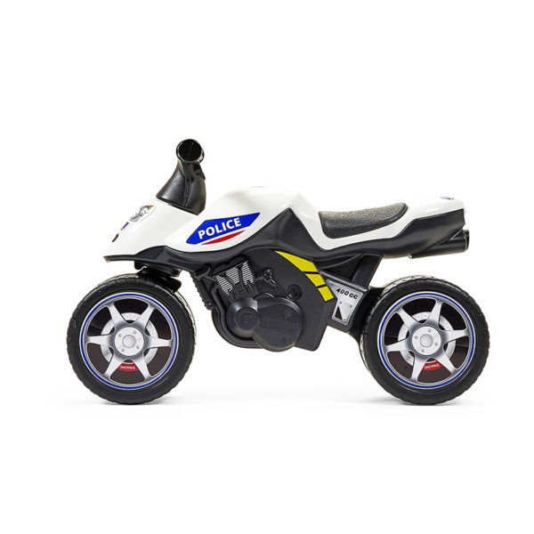Police Balance Bike 427 profile view