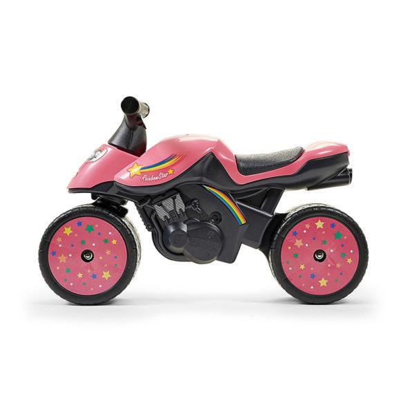 Draisienne Moto Rainbow Star 428 vue de profil