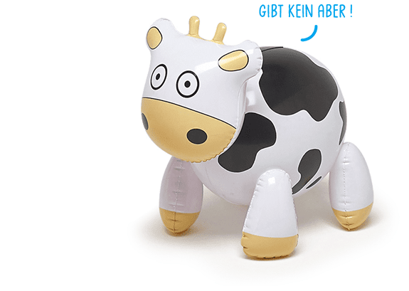 vache gonflable