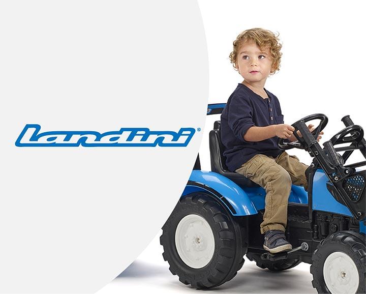 jouet roulant pour enfant de la licence Landini