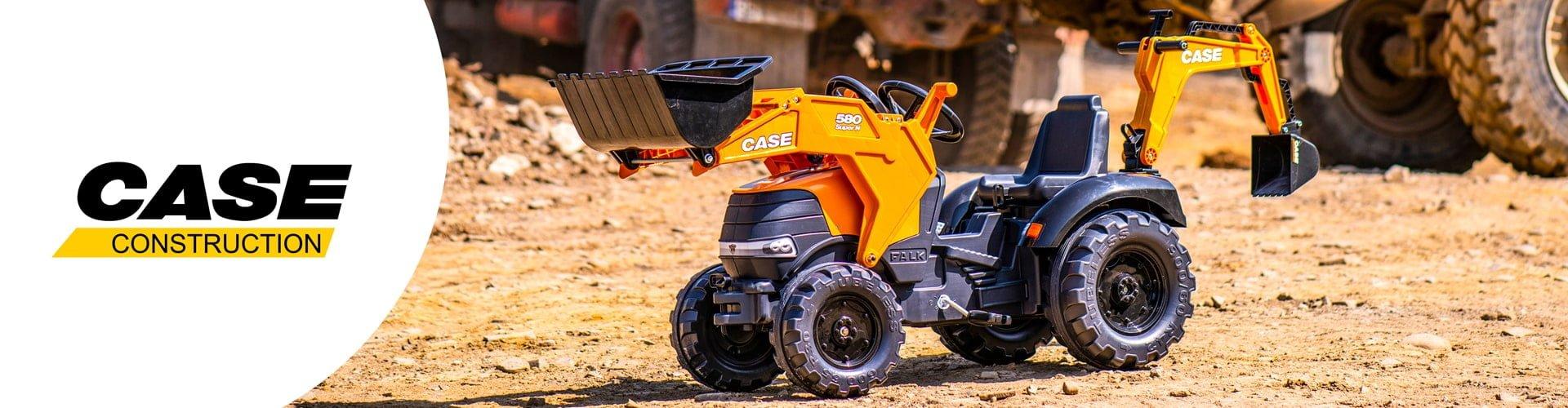 jouet roulant pour enfant de la licence Case construction