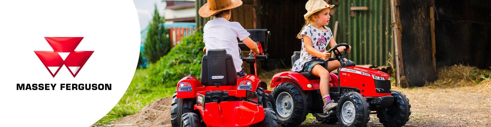jouet roulant pour enfant de la licence Massey Ferguson