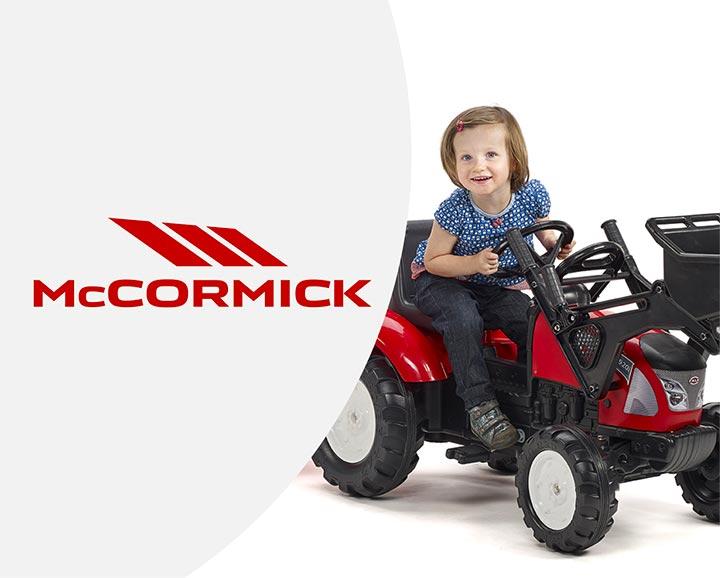 jouet roulant pour enfant de la licence Mc Cormick