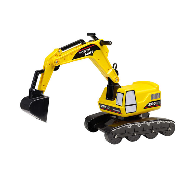 Yellow Power Shift Excavator Falk Toys 100