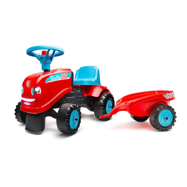 Ride-on Tractor Go! 200B stickers kit 2