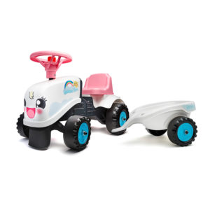 Rainbow Farm Tractor ride-on 206B stickers kit 1