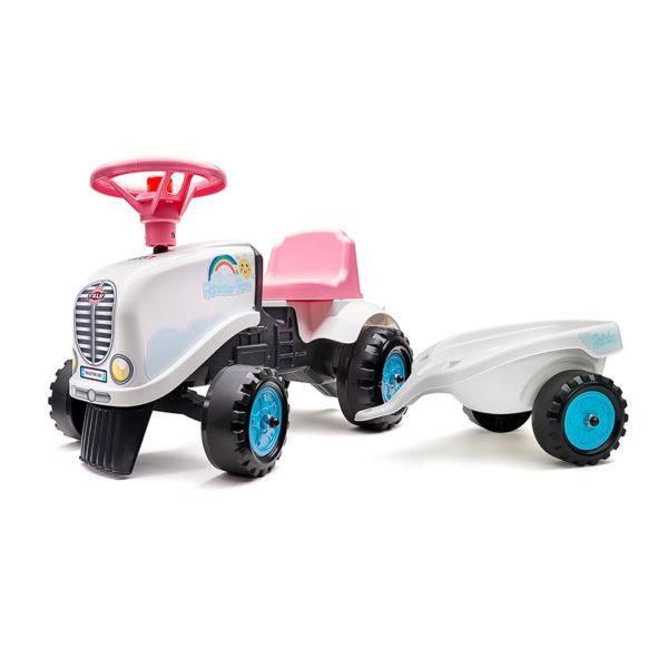 Porteur tracteur Rainbow Farm 206B stickers kit 2