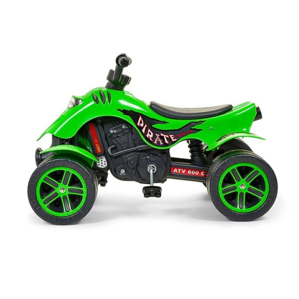 Green Pirate Quad 609 profile view