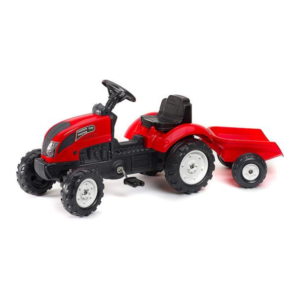 Tracteur à pédales Garden Master rouge 2058J