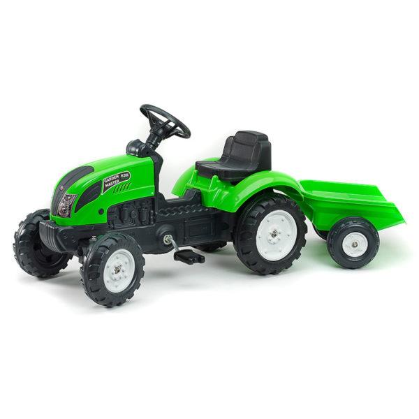 Traktor mit Pedalen Garden Master grün 2057J