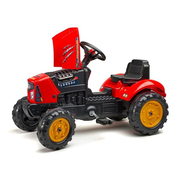Supercharger 2030AB pedal tractor opening hood