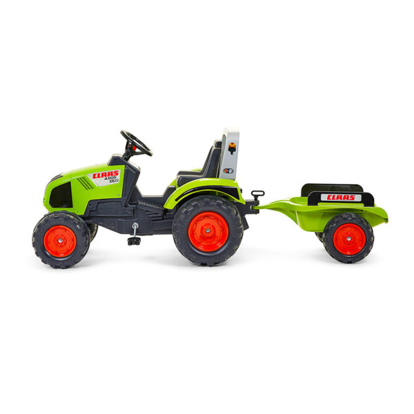 Tracteur à pédales Claas 1011AB vue de profil