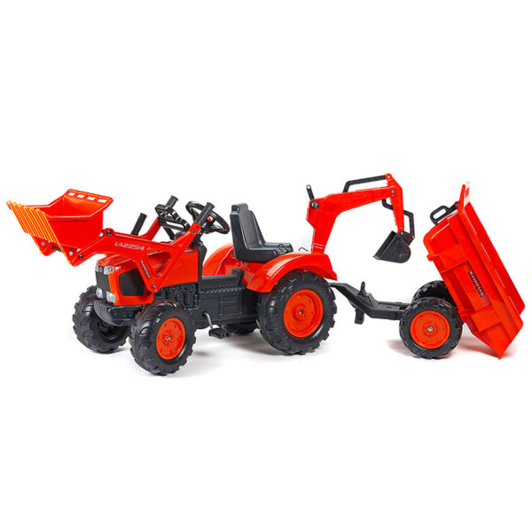 Kubota 2090Z pedal backhoe loader