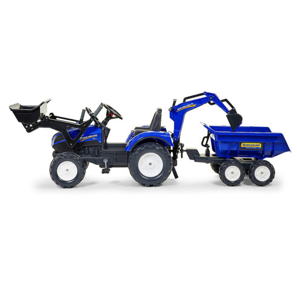 Tractopelle New Holland 3090W vue de profil