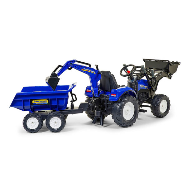 Baggerlader New Holland 3090W Rückansicht