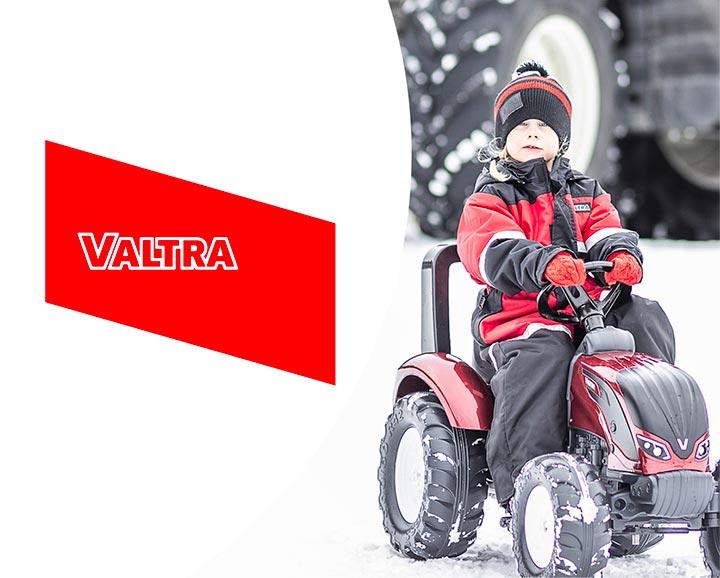 jouet roulant pour enfant de la licence Valtra