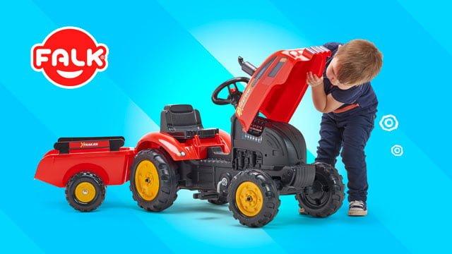 tracteur supercharger falk toys