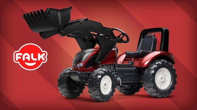 tracteur valtra falk toys